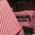 Lauren Ralph Lauren Long Sleeve New With Tags Button Down Shirt Red and white stripe Image 5