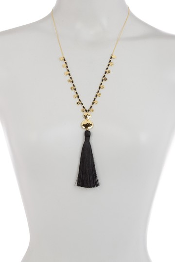 Gorjana Leucadia Beaded Tassel Necklace Image 3