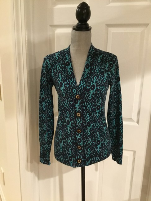 Tory Burch Button Down Shirt Turquoise blue Image 1