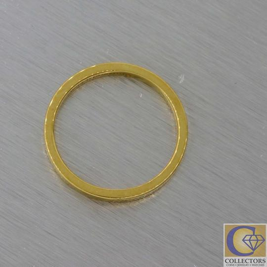Tiffany & Co. Gold 18k 2mm Wide Classic Stacking Band Ring Image 3