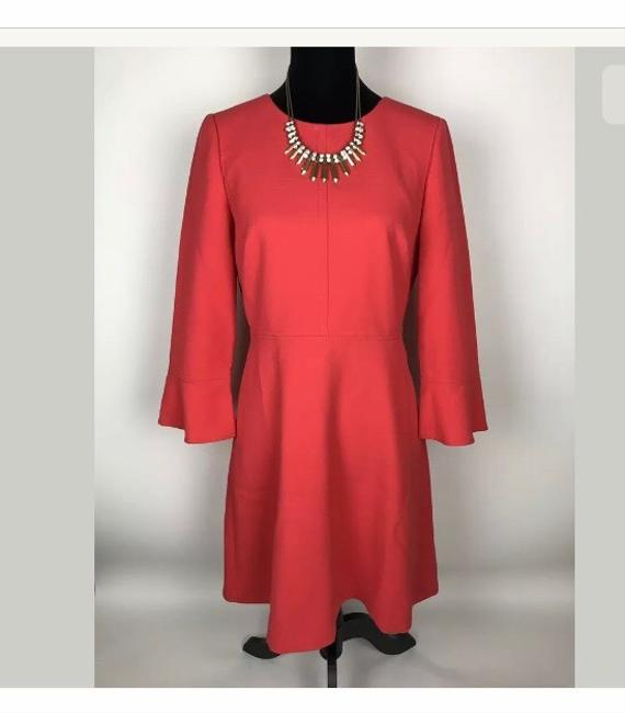 J.Crew Bell Sleeve A-line Lined Dress Image 2