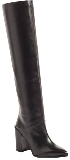 Preload https://img-static.tradesy.com/item/24321497/stuart-weitzman-black-scrunchy-leather-knee-high-bootsbooties-size-us-6-regular-m-b-0-3-540-540.jpg