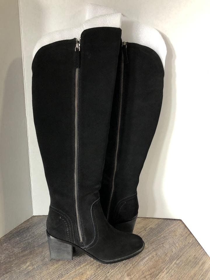 2e9491006cb Crown Vintage Black Uptown Over The Knee Boots Booties Size US 9.5 ...