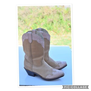 Durango light tan Boots