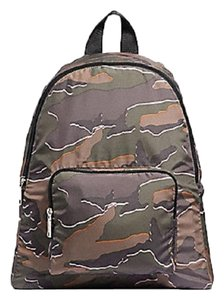 Coach Camouflage Nylon School Travel Backpack