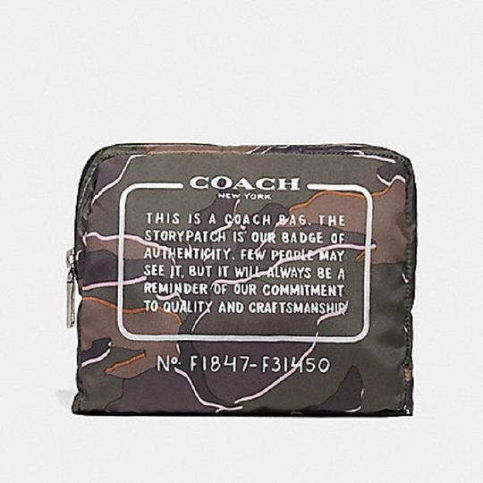 Coach Camouflage Nylon School Travel Backpack Image 1