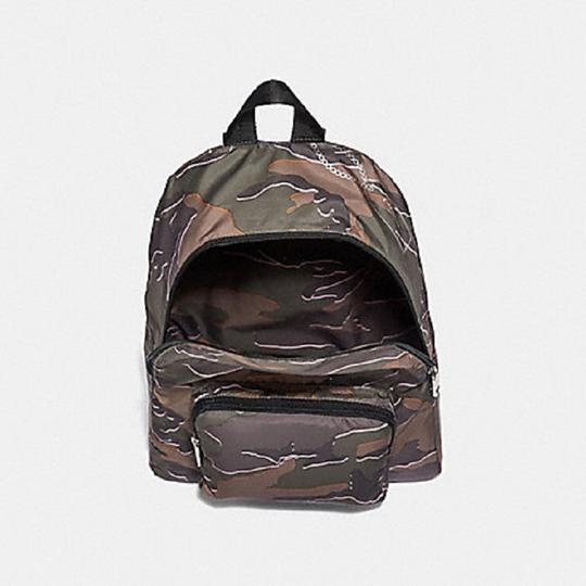 Coach Camouflage Nylon School Travel Backpack Image 2