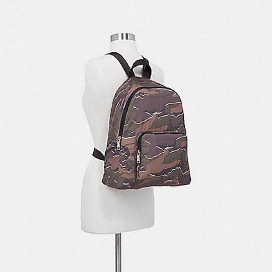 Coach Camouflage Nylon School Travel Backpack Image 3