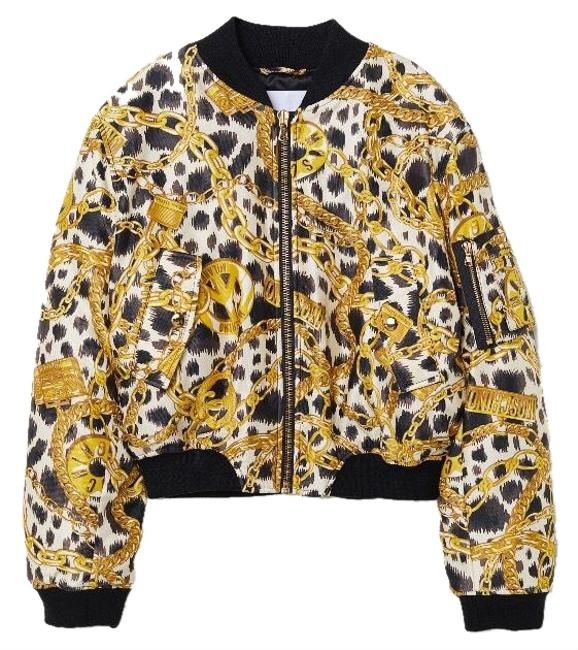 Preload https://img-static.tradesy.com/item/24321642/moschino-tv-h-and-m-blackgold-bomber-jacket-size-4-s-0-3-650-650.jpg