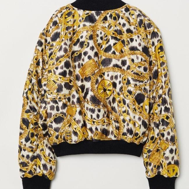 MOSCHINO [tv] H&M Black/Gold Jacket Image 1