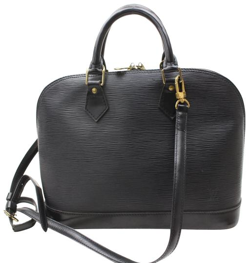 Preload https://img-static.tradesy.com/item/24321643/louis-vuitton-alma-noir-with-strap-868643-black-leather-satchel-0-1-540-540.jpg