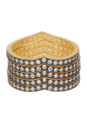 Freida Rothman Accent King of Hearts Ring Set Image 2