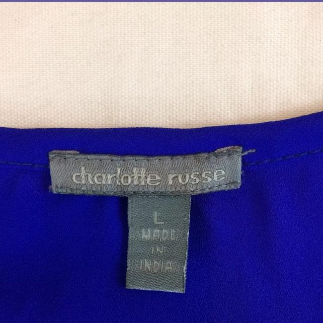 Charlotte Russe Top Blue Image 2