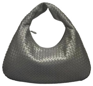 Bottega Veneta Leather Large Hobo Bag