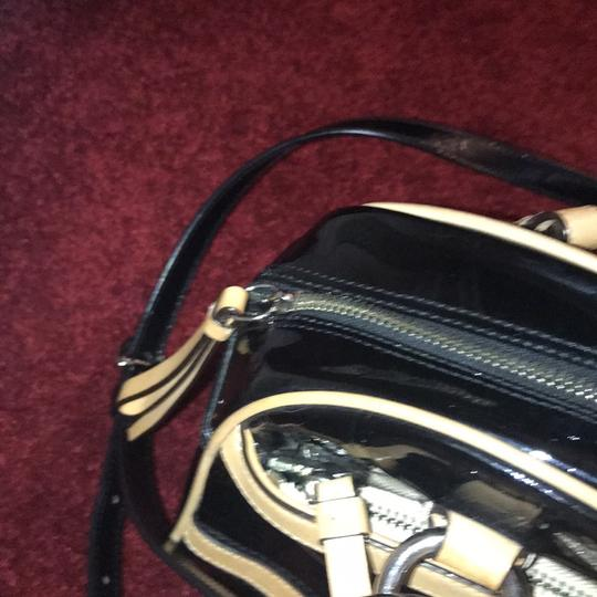 Coach Leather Two-tone Satchel in Black Image 11