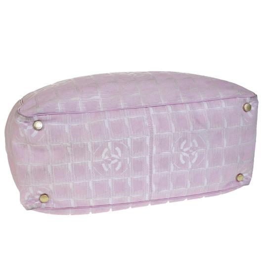 Chanel Made In France Pink Travel Bag Image 5