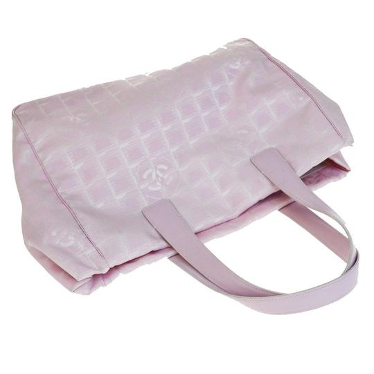 Chanel Made In France Pink Travel Bag Image 8