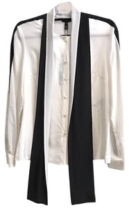 Escada Top Off White / Black