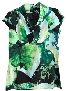 Escada Top Green/Black