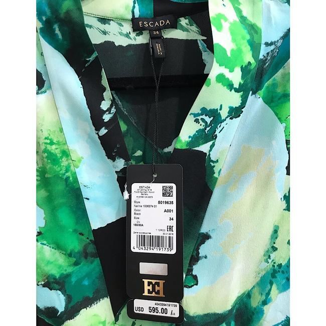 Escada Top Green/Black Image 2
