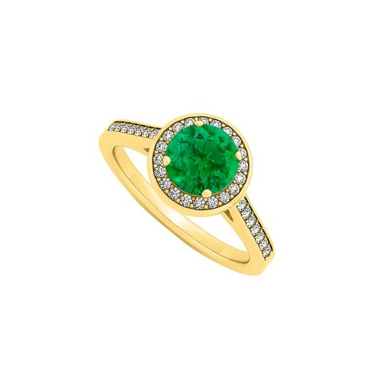 Preload https://img-static.tradesy.com/item/24322312/green-may-birthstone-created-emerald-and-cubic-zirconia-halo-engagement-ring-0-0-540-540.jpg