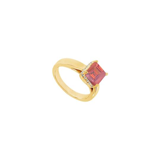 Preload https://img-static.tradesy.com/item/24322473/red-created-ruby-and-cubic-zirconia-14k-yellow-gold-100-ct-tgw-ring-0-0-540-540.jpg