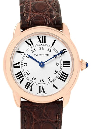 Preload https://img-static.tradesy.com/item/24322483/cartier-silver-ronde-solo-steel-18k-rose-gold-small-ladies-w6701007-watch-0-3-540-540.jpg