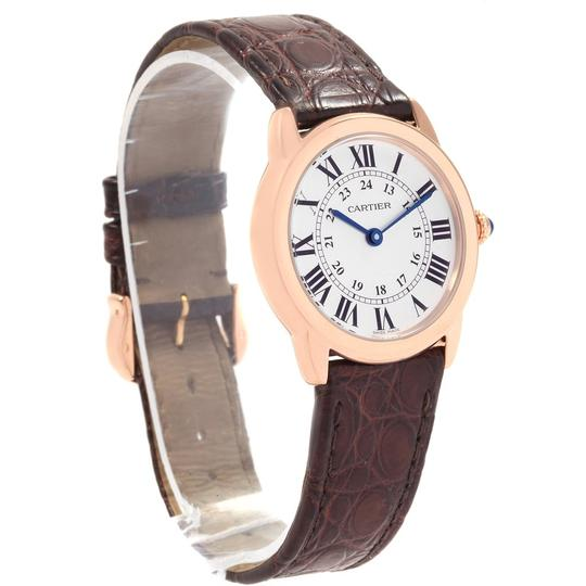 Cartier Cartier Ronde Solo Steel 18K Rose Gold Small Ladies Watch W6701007 Image 2