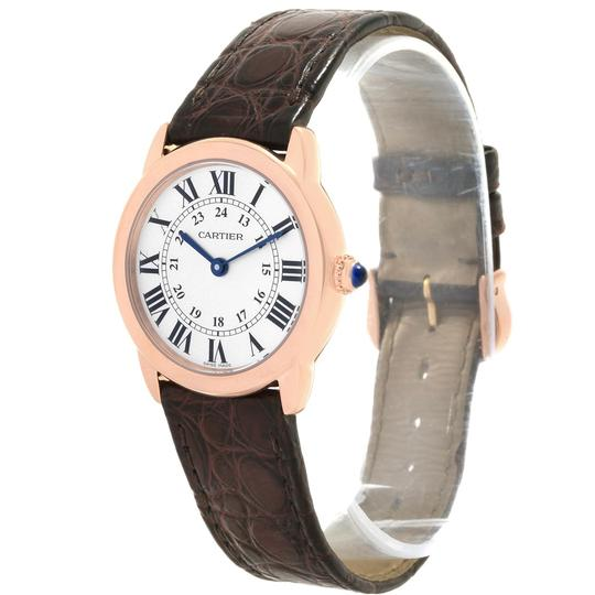 Cartier Cartier Ronde Solo Steel 18K Rose Gold Small Ladies Watch W6701007 Image 3