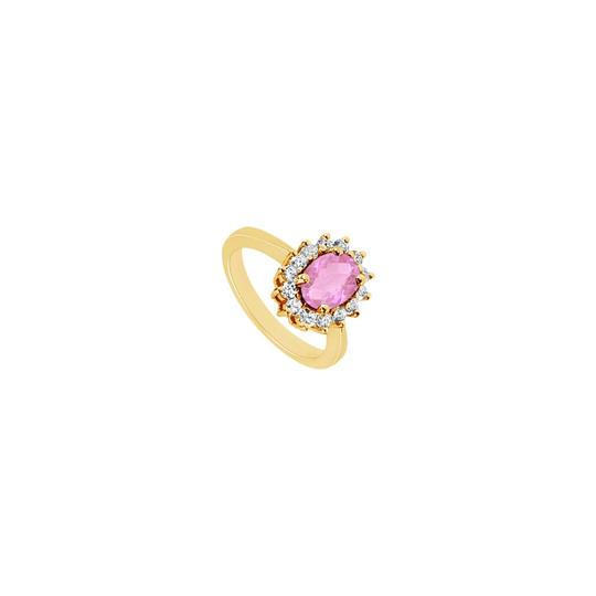 Preload https://img-static.tradesy.com/item/24322494/pink-created-sapphire-and-cubic-zirconia-14k-yellow-gold-150-ct-ring-0-0-540-540.jpg