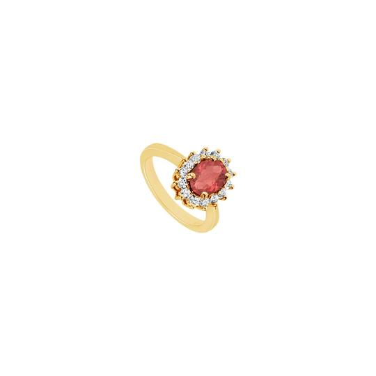Preload https://img-static.tradesy.com/item/24322561/red-created-ruby-and-cubic-zirconia-14k-yellow-gold-150-ct-tgw-ring-0-0-540-540.jpg