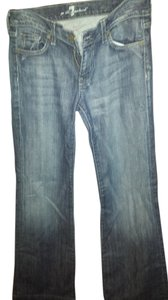 7 For All Mankind Vintage Flare Leg Jeans-Medium Wash