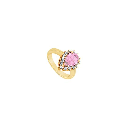 Preload https://img-static.tradesy.com/item/24322571/pink-created-sapphire-and-cubic-zirconia-14k-yellow-gold-150-ct-ring-0-0-540-540.jpg