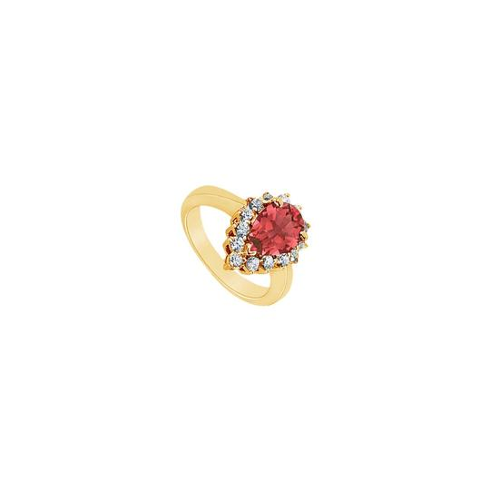 Preload https://img-static.tradesy.com/item/24322580/red-created-ruby-and-cubic-zirconia-14k-yellow-gold-150-ct-tgw-ring-0-0-540-540.jpg
