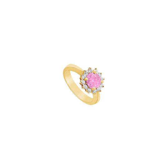 Preload https://img-static.tradesy.com/item/24322625/pink-created-sapphire-and-cubic-zirconia-14k-yellow-gold-150-ct-ring-0-0-540-540.jpg
