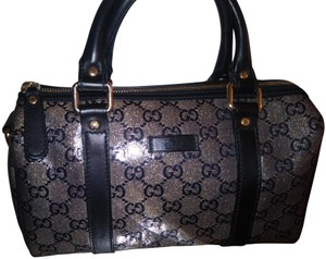 Gucci Satchel in Navy silver