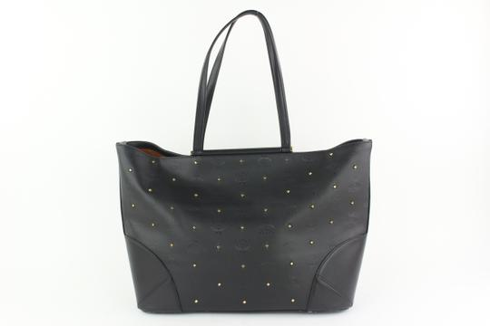 MCM Anya Liz Claudia Studded Neverfull Tote in Black Image 6