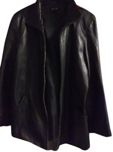 Colebrook & Co. Party Bright Structured Evening Leather Jacket