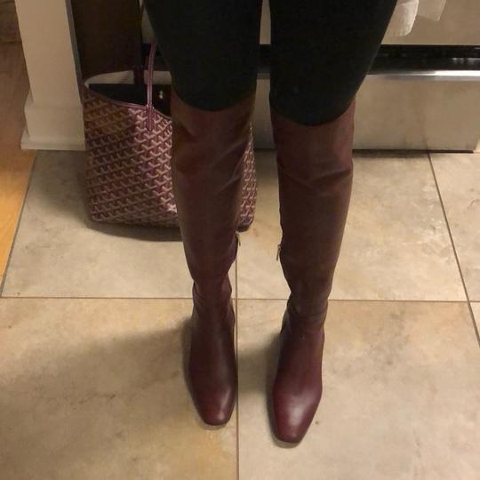 Gianvito Rossi burgundy Boots Image 2