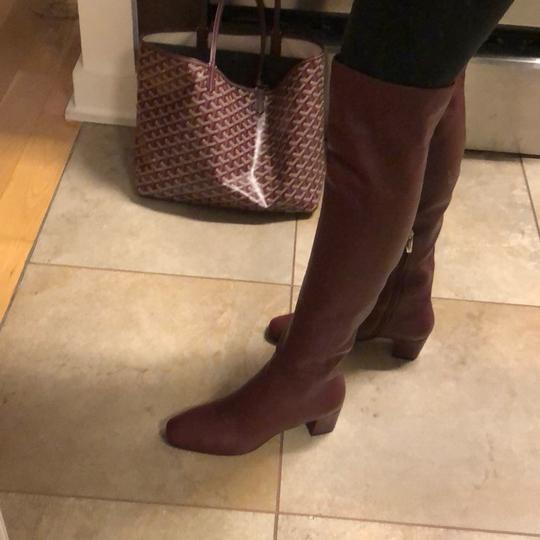Gianvito Rossi burgundy Boots Image 3