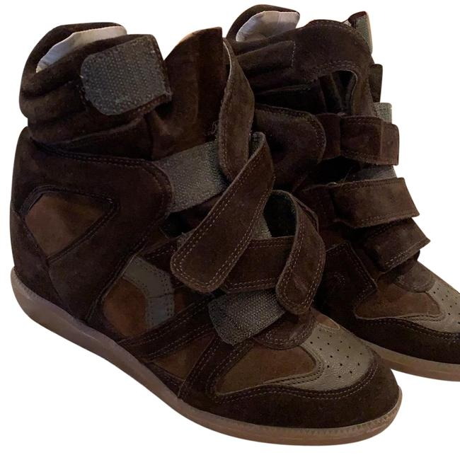 Item - Bootie Wedge Sneaker Platforms Size EU 38 (Approx. US 8) Regular (M, B)