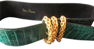 Paloma Picasso Paloma Picasso Couture Crocodile Belt