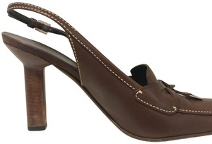 Prada brown coffee Pumps