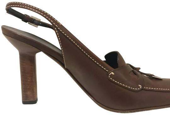 Prada brown coffee Pumps Image 0