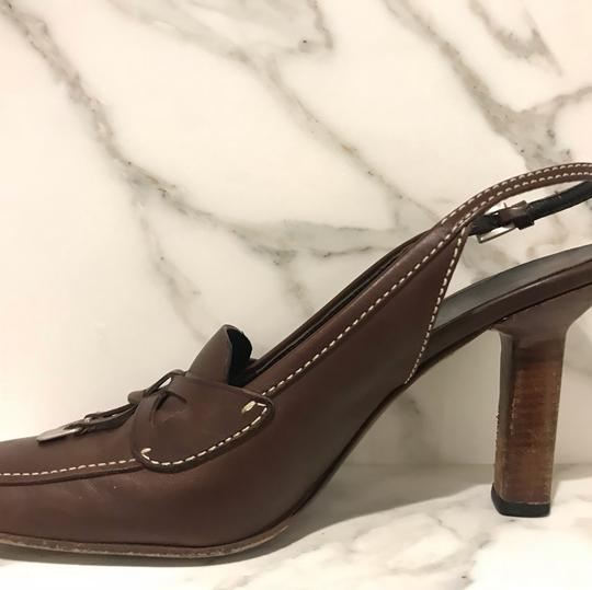Prada brown coffee Pumps Image 2
