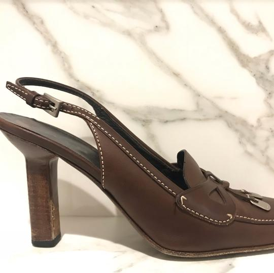 Prada brown coffee Pumps Image 3