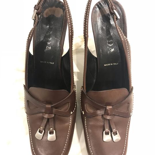 Prada brown coffee Pumps Image 4