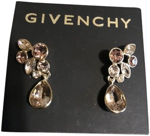 Givenchy Stunning Swarovski crystals drop earring ,rose gold , NWT