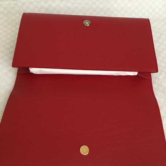 Saint Laurent red Clutch Image 4