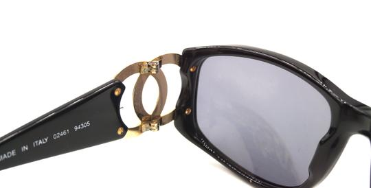 Chanel RARE long gold chain CC Sunglasses celebrity runway collector's piece Image 10